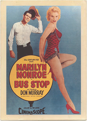 Vintage poster for the movie Bus Stop.