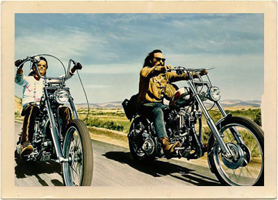 God knows! easy rider movie that interfere